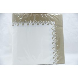 Lunch Napkins 40-2Ply Precious Gold