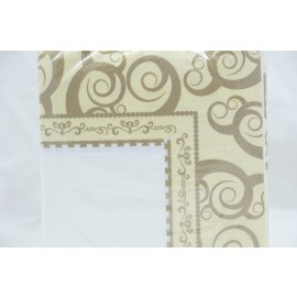 Beverage Napkins 75- 2Ply Gold Medley