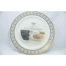Decor 10.25 Plates 10cts Gold