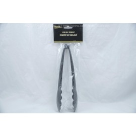 Party Collections Black Salad Tongs