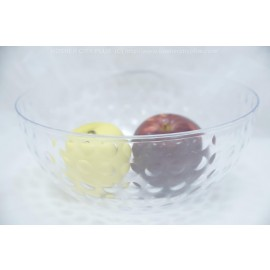 Party Dimensions Clear Dimpled Bowl 100oz