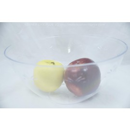 "Dining Collection Clear Embellish 9.5"" Round Bowl"