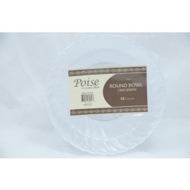 Poise 5oz Round Bowl 18ct
