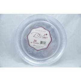 "Hanna K. Signature 10"" Plates 20ct Fine Dinnerware"