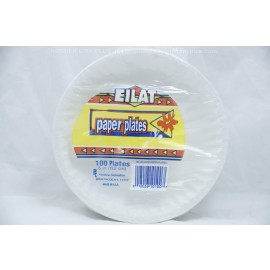 6 in Paper Plates 100ct