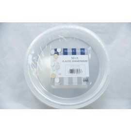 "Hanna K. Signature Plastic Plates 7"" 50ct"