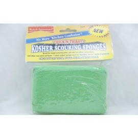 Mark-It International Pareve Kosher Scouring Sponge