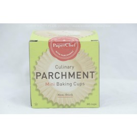 PaperChef Mini Baking Cups Culinary Parchment Non-Stick 90 cups