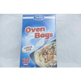 Dining Collection Large Size Oven Bags 16 in 17 1/2 in 10 Bags