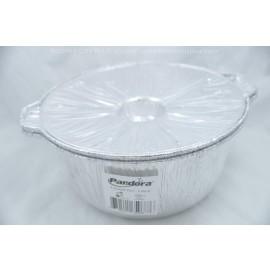 Pandora Aluminum Foil 4 Quart Pot -2 Pack