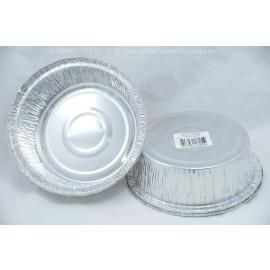 """Aluminum Foil 6"""" Round Deep Pan"""