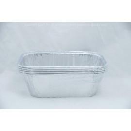Padandora Aluminum Foil Rectangular  1 Lb Loaf 5 Pack