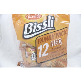Osem BBQ Bissli Family Pack  12 Bags of 35g