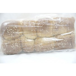 Sliced Square Challah with Sesame Seeds Yashan Pas Yisroel Nut Free Kosher City Plus Bakery