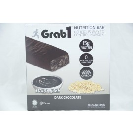 Dark Choclate Nutrition Bar Pareve 5 Bars 235g
