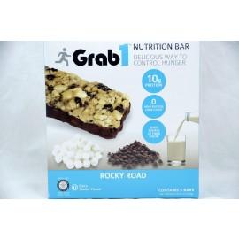 Grab1 Rocky Road Nutrition Bar Dairy Cholov Yisroel 5 Bars 235g