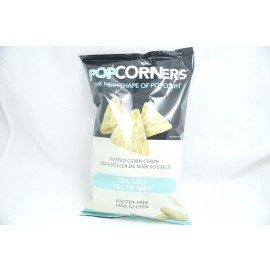 POPCORNERS Popped Corn Chips Sea Salt 142g