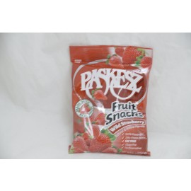 Pakesz Fruit Snacks Wild Straberry Net Wt. 5oz (142g)