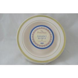 Prideware Dessert Bowl Gold 5oz 10pk