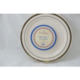 Prideware Dessert Plates Gold 6 inch 10pk