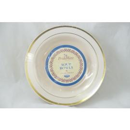 Prideware Soup Bowls Gold 12oz 10pk