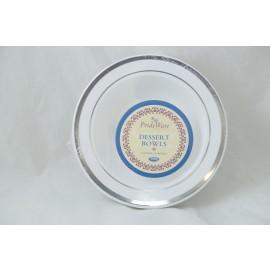Prideware Dessert Bowls Silver 5oz 10pk