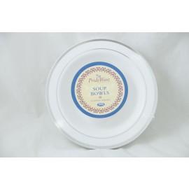 Prideware Soup Bowls Silver 12oz 10pk