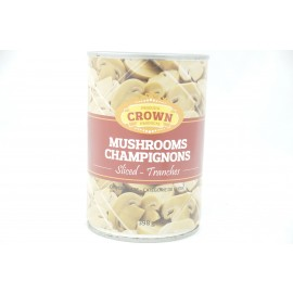Crown Mushrooms Sliced