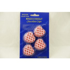Madison Collection Chocolate Cups Heart Shape