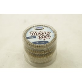 Fantastic Baking Cups Mini Linear Gold 72cts