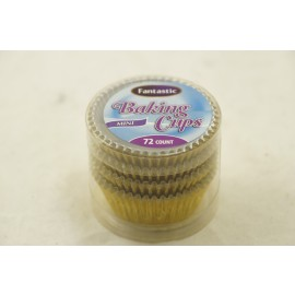 Fantastic Baking Cups Mini Foil Gold 72cts
