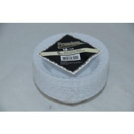 Premium Collection 5oz White Plastic Bowl 18cts