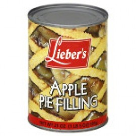 Lieber's Apple Pie Filling 21oz (1lb) 595g
