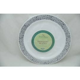 "Frillware Collection BAnquest Plates 10.25"" 10cts"