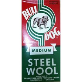 Bull Dog Steel Wool Medium 6Rolls