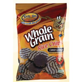 Shibolim Whole Grain Rice Chips Carob Coated 3.5oz