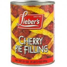 Lieber's Cherry Pie Filling 21oz (1lb) 595g
