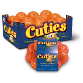 Sweet Seedless Clementines