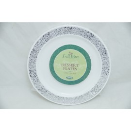 "Frillware Collection Dessert Plates 6"" 10cts"