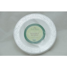 Frillware Collection Dessert Bowl 5oz 10cts