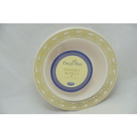 Dazzleware Collection Dessert Bowl 5oz 10cts in Gold