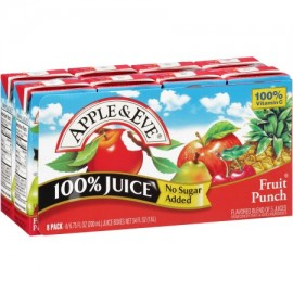 Apple & Eve Fruit Punch 8/6.753fl.oz (200ml) Flavored Blend of 5 juices