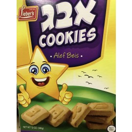 Lieber's Alef Beis Cookies 12oz