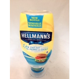 Hellmann's Mayonnaise Squeeze 1/2 the Fat of Regular Mayo 750ML