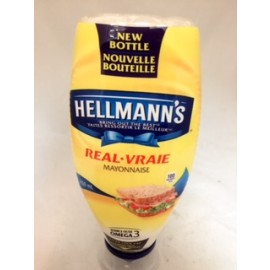 Hellmann's Real MAyonnaise Squeeze 750ML
