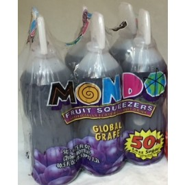 Mondo Drinks Grapes 6pk.