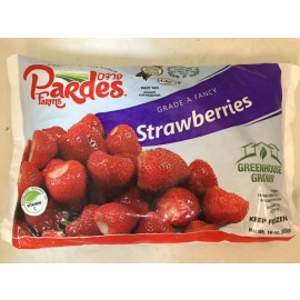 Pardes Farms Frozen Strawberries 16oz