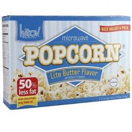 Kitov Microwave Lite Butter Flavor Popcorn 6 3.5 oz bags 21 oz 594g