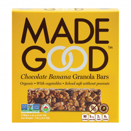 Made Good Chocolate Banana Granola Bars 5x24g