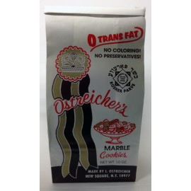 Ostreicher's Marble Cookies Trans Fat Free. No Coloring or Preservatives 10oz